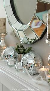 Mantel, Decorating, Ideas, For, Winter