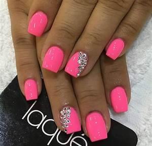 Neon Pink Nail Polish Designs | www.pixshark.com - Images ...