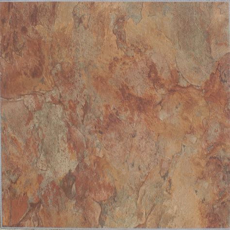 lowes flooring peel and stick shop style selections 10 piece copper slate peel and stick vinyl tile at lowes com
