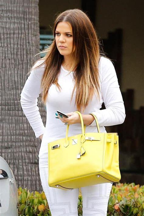 Khloe Kardashian's yellow bag: Steal her style
