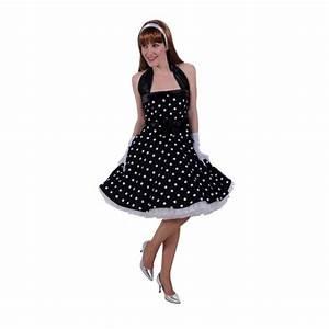Robe Année 80 : robe ann e 60s noir be happy ~ Dallasstarsshop.com Idées de Décoration
