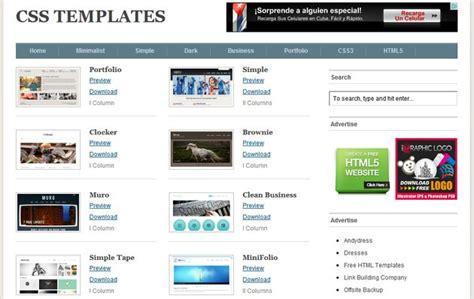 Como Se Hace Una Web Con Templates Html5 free css templates una gran colecci 243 n gratuita de