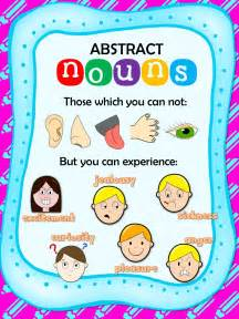 Abstract Noun Examples for Kids