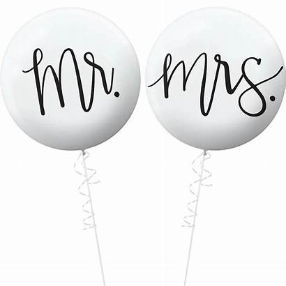 Mrs Mr Balloons Anniversary Table 25th Silver