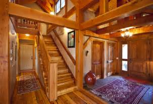 timber frame home interiors mountain retreat timber frame residential project photo gallery