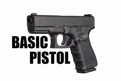 Basic Pistol Class Handgun Gun 4pm 2pm