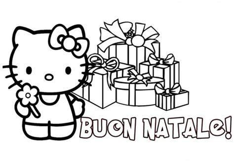 Hello Kitty A Natale Da Colorare