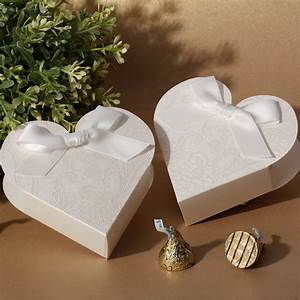 2015 elegant unique laser cut love heart candy box wedding With wedding favor chocolate boxes