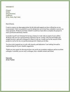 thank you for your support letter 5 best samples With business thank you letter for help and support