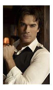 Damon Salvatore In White Shirt HD The Vampire Diaries ...