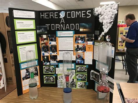 grade  science  project tornado   bottle