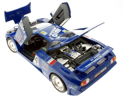 "Positioned in the gt1 category, the eb110 ss was the fastest in qualifier in its class. Modellauto Bugatti EB 110 ""Le Mans"" 1994 blau Burago 1:18 ..."