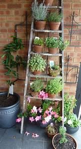 Rcuprer Une Vieille Chelle Pour Dcorer Son Jardin 20