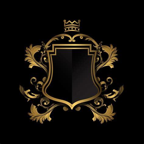 Club America Logo Wallpaper Escudo Dorado Sobre Fondo Negro Descargar Vectores Gratis