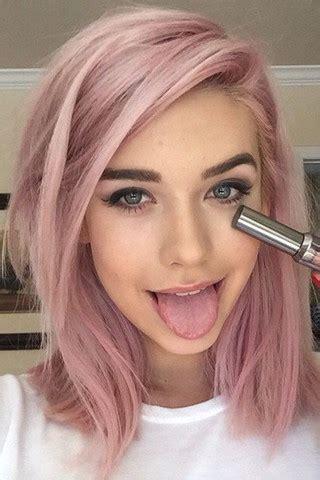 haare mit rosa welche directions f 252 r rosa haare auf braunem haar farbe f 228 rben braun