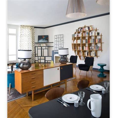meuble pour mettre derriere canape separation salon et cuisine avec meuble derriere canape