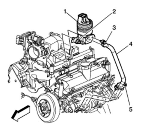 repair guides component locations egr valve position