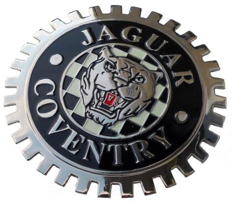 jaguar growler grille badge