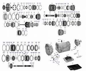 Transmission Repair Manuals Jr710e  Re7r01a