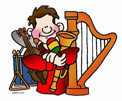 Clip Clipart Musical Musicians Orchestra Teacher