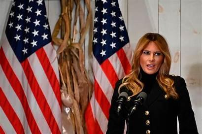 Melania Trump Election Campaign Week Lady Rally