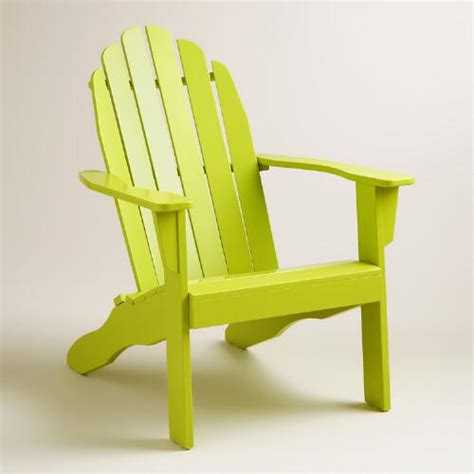 apple green adirondack chair world market