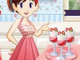 jeux de aux fraises cuisine gratuit jeu ecole de cuisine parfait aux fraises sur jeux com