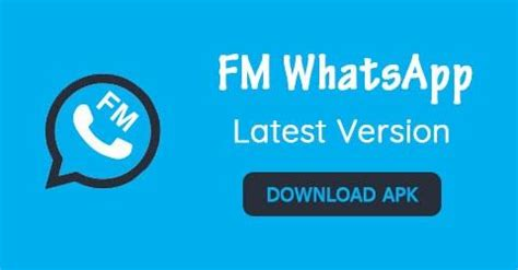 fm whatsapp 7 50 apk for android 2018 version