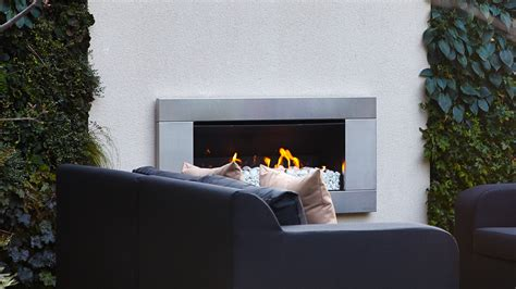 private members club outdoor fireplace randle siddeley