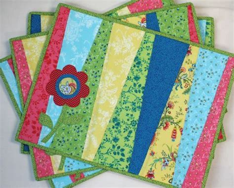quilted placemats patterns a quilt of quarter placemats photo only