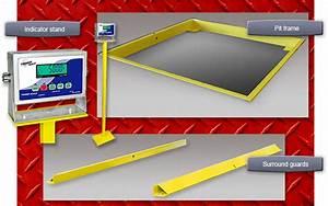 NTEP Certified Floor Scales, Stainless Steel Floor Scales ...