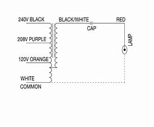 240v Metal Halide Ballast Wiring Diagram