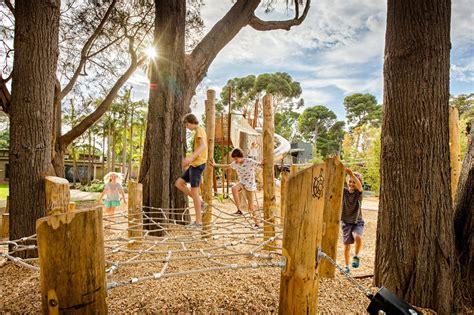 zoo adelaide playground nature play australia wax landezine space landscape architecture architects natural playgrounds children outdoor spaces creative works worldlandscapearchitect