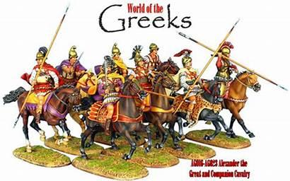Cavalry Macedonian Companion Ancient Alexander Legion Soldiers