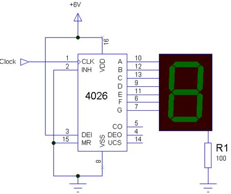 Simple Manual Digital Counter Circuit With Reset