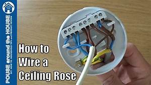 How To Wire A Ceiling Rose