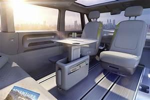 Combi Electrique Prix : volkswagen id buzz concept le combi en mode lectrique et autonome photo 12 l 39 argus ~ Medecine-chirurgie-esthetiques.com Avis de Voitures