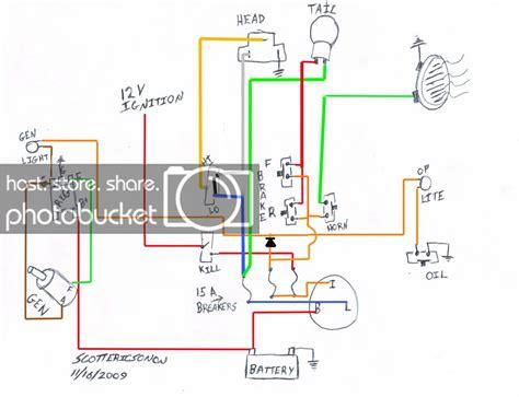 Simplied Shovelhead Wiring Diagram Needed