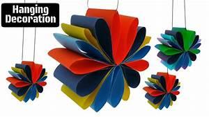 Craft Design 3 : Hanging Paper Decoration for Diwali