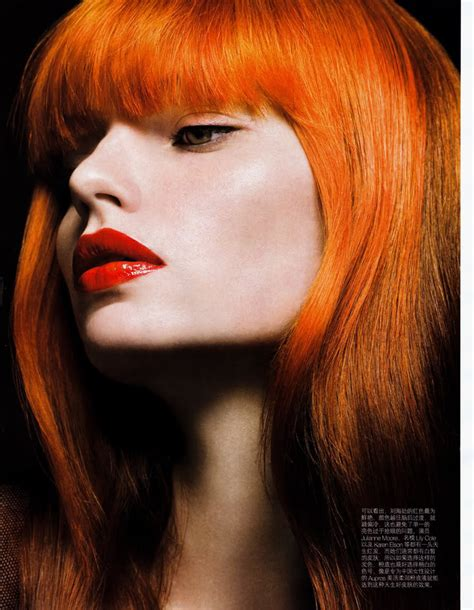 Blazing Orange Hair Colors Ideas