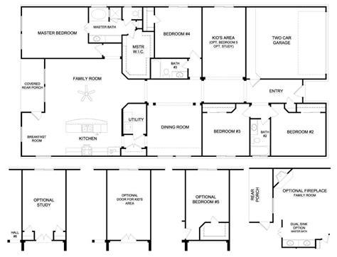 6 bedroom house floor plans 6 bedroom ranch house plans inspirational 6 bedroom ranch