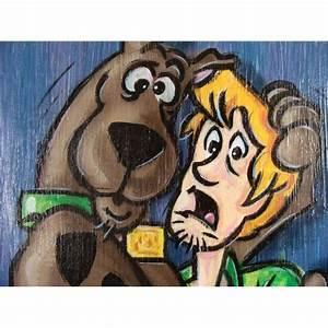 Duerrstein Scooby Doo U0026 Shaggy Original Art Painting