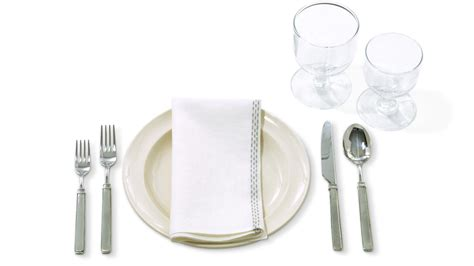 The Rules How To Set A Formal (or Notsoformal) Table