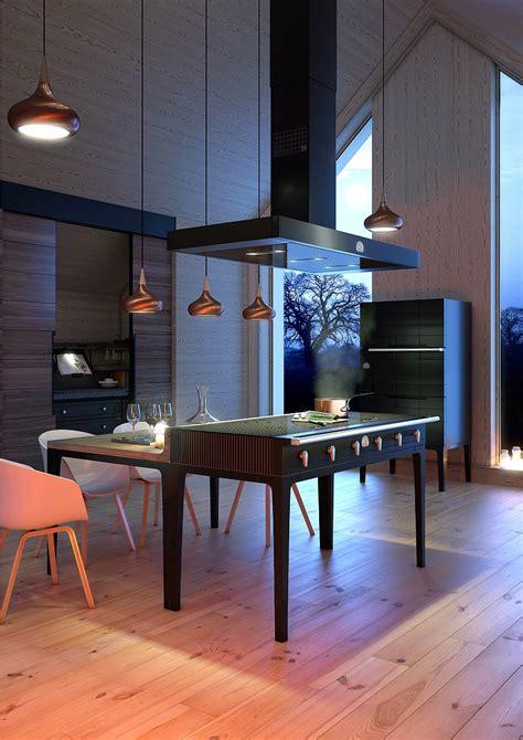 piano cuisine induction ingenious la cornue w reinterprets design for the