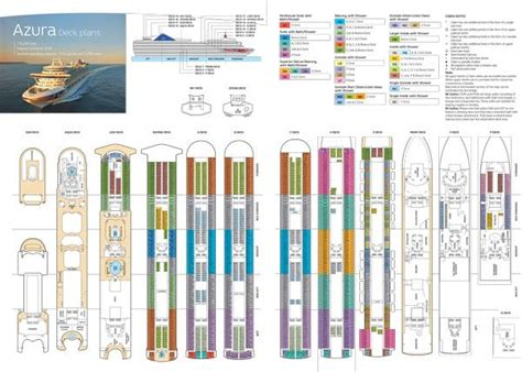 Deck Plan 4 by Azura P O Cruises Rol Cruise