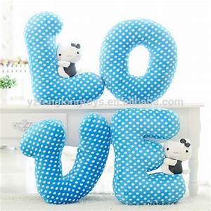 hot sale stuffed letter toy letter shaped pillow buy With cheap letter pillows
