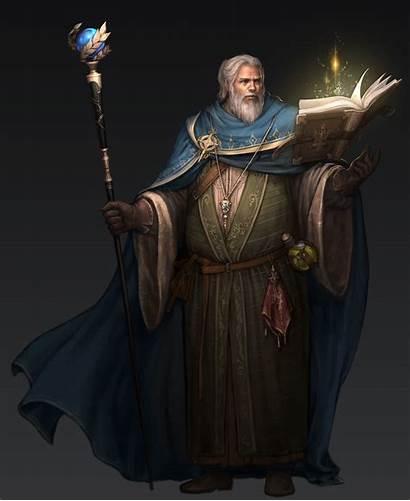 Wizard Artstation Fantasy Male Character Artwork Ram