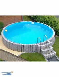 Kubikmeter Berechnen Pool Rund : sunny pool rund schwimmbecken h he 1 35 m durchmesser 5 00 m 699 00 ~ Themetempest.com Abrechnung
