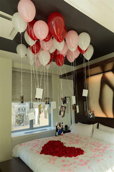 diy valentines day decoration boyfriend romantic room