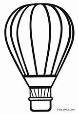 Template Balloon Coloring Air Basket Balloons Preschool Sheets Colouring Printable Outline Drawing Craft Cool2bkids Clipart Templates Crafts Clip Adults Birthday sketch template
